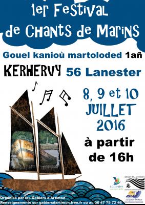 Affiche festival Kerervy